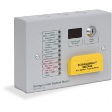 Kentec Sigma Si Extinguishant Status, 10 Lamp c/w Mode Select & Manual Release, Surface, K911113M8